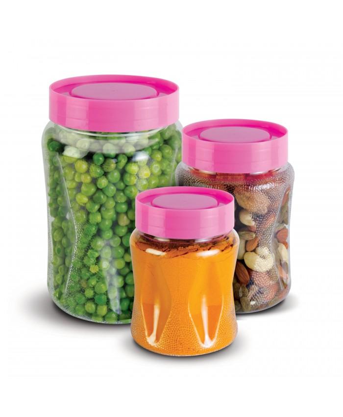 3 Pcs Trio Jar Set